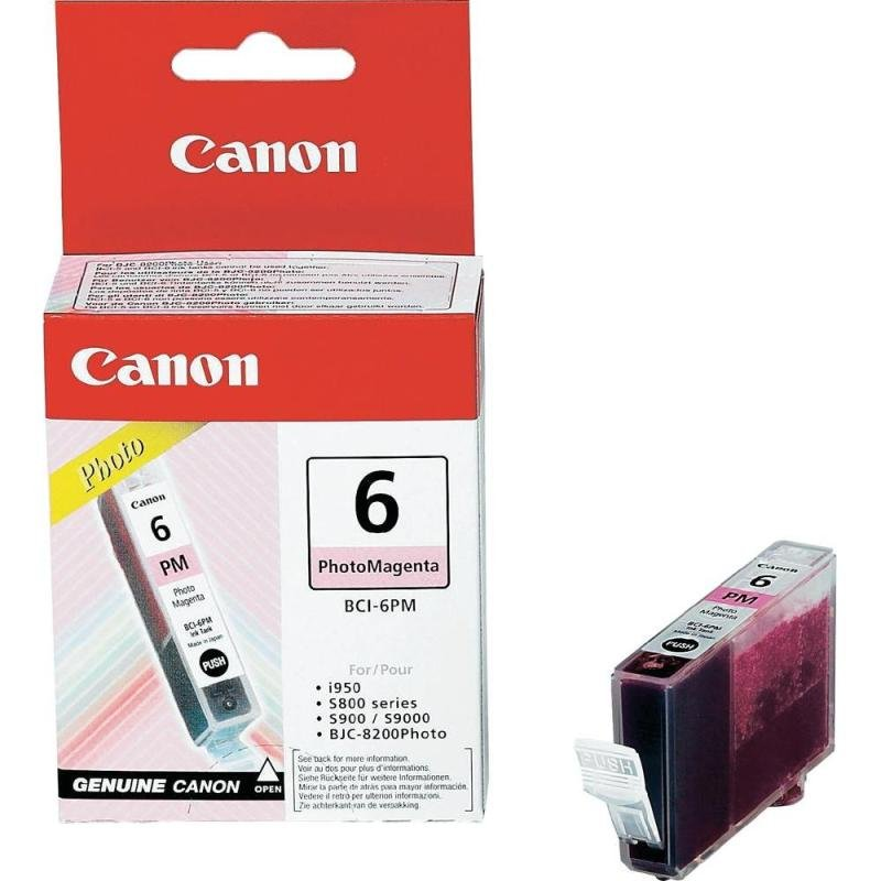 Canon BCI-6PM - Photo Magenta Ink Cartridge