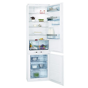 AEG SCT71900S0 Integrated Extra Tall 70:30 Frost Free Fridge Freezer White